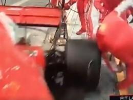 Видео: Гонщик «Формулы-1» Кими Райкконен сбил механика напит-стопе