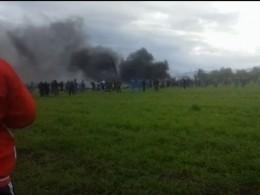 СМИ сообщили модель самолета разбившегося вАлжире