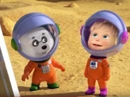 Создатели «Маши иМедведя» опубликовали космический выпуск