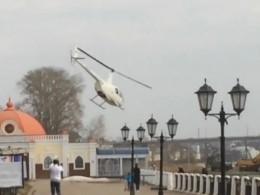 Эксцентричный костромской бизнесмен летает вресторан навертолёте— опубликовано видео