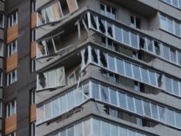 Успелили выплатить ипотеку? —ВОбнинске ураганом снесло балконы новой высотки