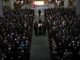 ВСША прошла церемония прощания сБарбарой Буш