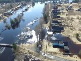 Пятый канал публикует видео паводка сквадрокоптера вВологодской области