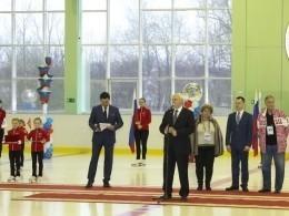 Полтавченко открыл новую ледовую арену вСестрорецке