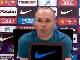 Капитан «Барселоны» объявил освоём уходе изклуба сослезами наглазах— видео