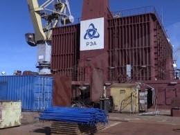 Первая вмире плавучая АЭС отправилась изПетербурга кместу базирования