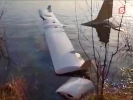 СМИ: вреку Нижегородской области упал спортивный самолет