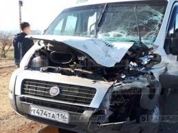 Девять человек пострадали вмассовой аварии вБурятии— фото