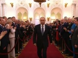 Онищенко отметил, чем церемония инаугурации Путина отличалась отпредыдущих