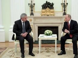 Президент Абхазии поздравил Путина синаугурацией