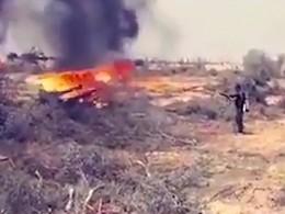 Видео: Египетские военные используют советские огнеметы для борьбы сИГИЛ*
