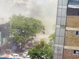 ВКабуле прогремело три мощных взрыва— кадры сместа