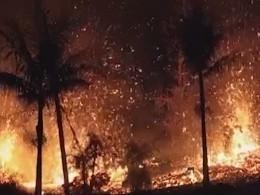 Вулкан Килауэа уничтожает Гавайи— жителям грозит отравление смогом икислотные дожди