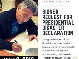 ВГавайях объявили режим ЧСипросят помощи уТрампа