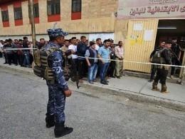 Три человека погибли при взрыве вовремя парламентских выборов вИраке