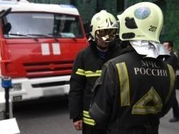 «Черный дым над городом»— сильный пожар вКазани попал навидео