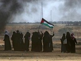 46 палестинцев погибли встолкновениях сармией Израиля награницах Газы