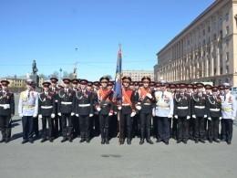 Петербургскиесуворовцы выступилинаспортивных играх вчесть Дня Победы