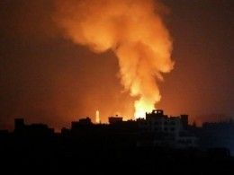 ВВС Израиля нанесли удар попозициям ХАМАС всекторе Газа