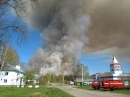 ВУдмуртии при новом пожаре рвались снаряды, побумагам уничтоженные в2014-м