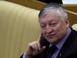 Гроссмейстер Карпов: вовремя игры вшахматы надетей давить нельзя