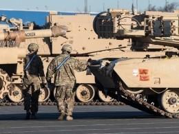 США начали размещать свою военную технику вВосточной Европе