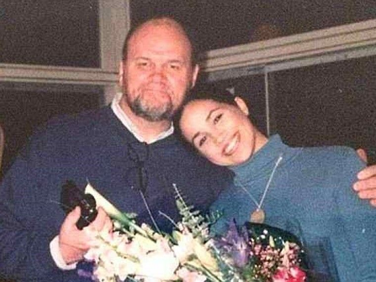 Отец Меган Маркл впервые появился напублике смомента королевской свадьбы