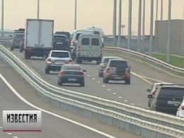ПоКрымскому мосту проехали уже более статысяч машин
