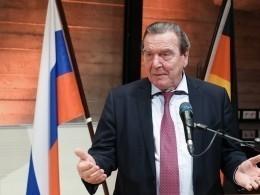 Шредер: Евросоюз сможет защитить «Северный поток-2» отСША