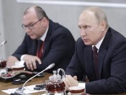 Прямая трансляция: Владимир Путин встречается сруководителями международных информагентств