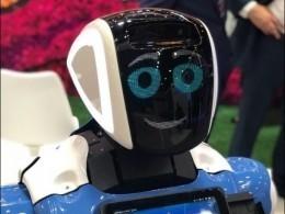 Робот, который развлекает гостей ПМЭФ, готовится ктурне поСША