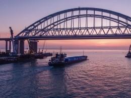 ВКиеве рассуждают опроблемах России сКрымским мостом