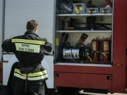 Пожар вмагазине вХакасии охватил тысячу квадратных метров— фото