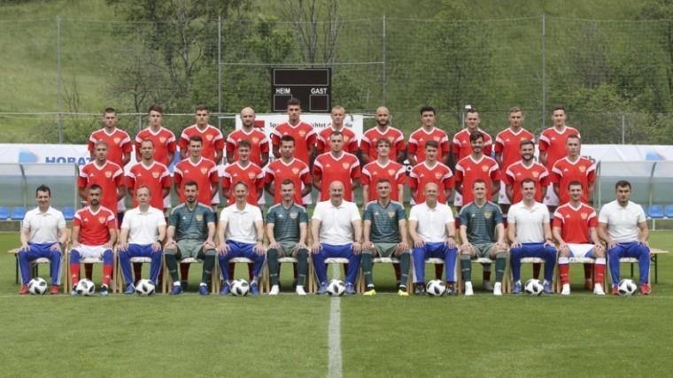 Опубликован окончательный состав сборной России наЧМ-2018