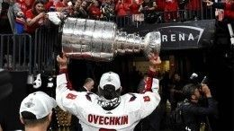 «Weare the champions»: Овечкин спел гимн победителей под брызги шампанского