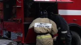 Пожар вТЦвЛомоносове: площадь пожара выросла втри раза