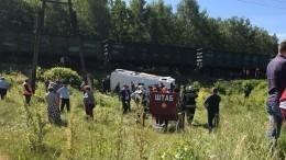 Беременная девушка пострадала пристолкновении автобусаитоварняка под Орлом
