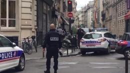 Парижская полицияарестовала мужчину, удерживавшего заложников вофисном здании