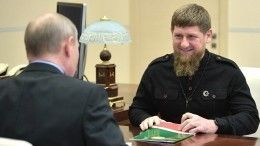 Путин иКадыров обсудили вопросы развития Чечни