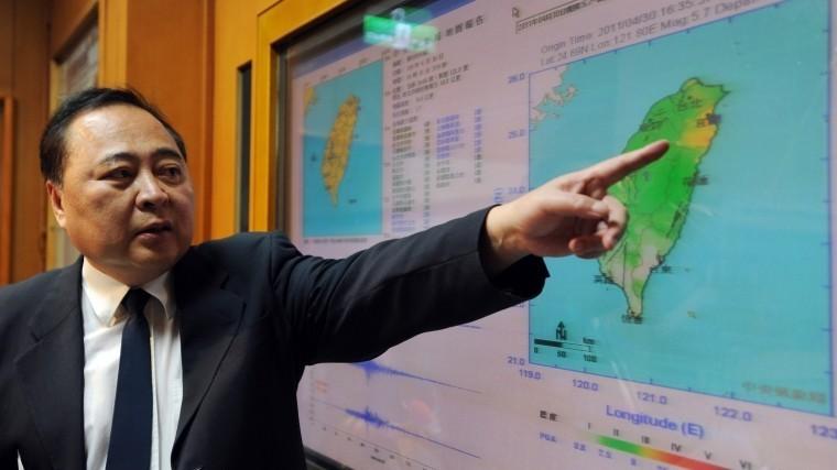 Насеверо-востоке Тайваня произошло землетрясение