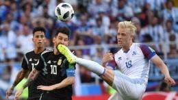 «Никакой» Месси итриумф Халльдоурссона: как прошел матч Аргентина— Исландия