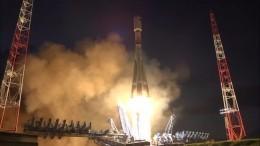 Фантастическое видео запуска ракеты «Союз-2.1Б» скосмодрома Плесецк