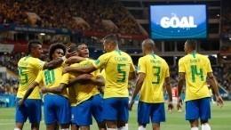 Бразилия повела вматче соШвейцарией настадионе «Ростов Арена»
