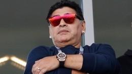 Марадона жестко раскритиковал главного тренера сборной Аргентины