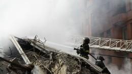 Крупный пожар вБратске натерритории промплощадки потушен