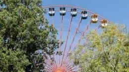 ВНовосибирске посетители парка развлечений застряли нааттракционе вниз головой