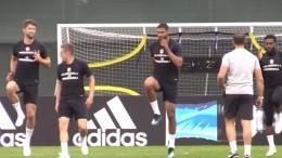 Видео: сборная Англии провела тренировку вЗеленогорске