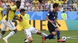Первая красная карточка ияпонская принцесса: как прошел матч Колумбия— Япония