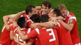 Россия одержала фантастическую победу над сборной Египта наЧМ-2018