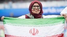 Иранские женщины впервые за40 лет легально посмотрели футбольный матч